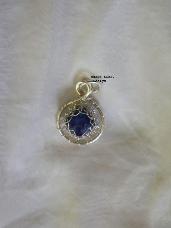 Lapis lazuli, medalion